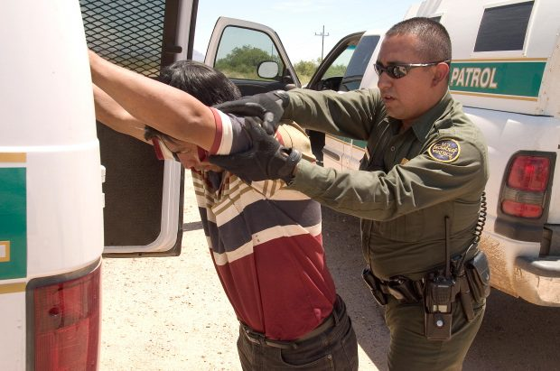Photo of Border Patrol Agents Assaulted by Illegal Aliens