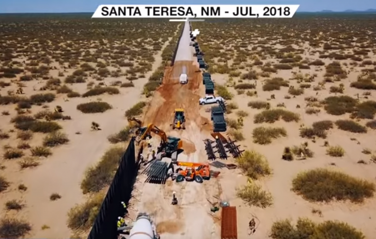 Photo of Watch: New Video Refutes Claims That No New Border Wall Has Gone Up