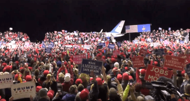 Photo of Watch Live: President Trump Holds MAGA Rally Fayetteville, NC – 10/29/20