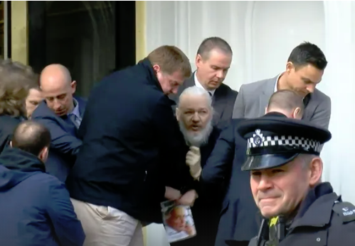 Photo of Assange Indicted on Broader Conspiracy Charges