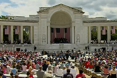 Photo of Arlington Ceremony Remembers America's Fallen Heroes
