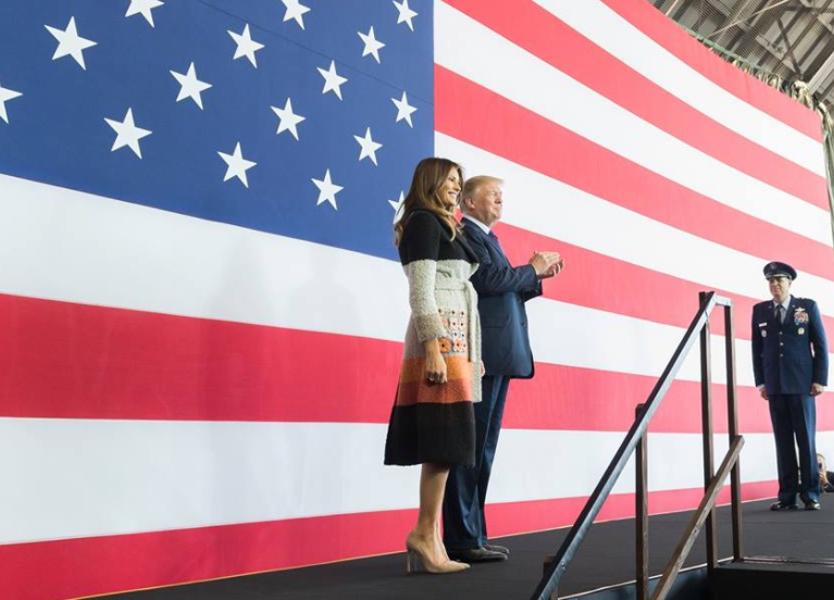 Photo of Watch Live: President Trump and The First Lady Participate in the Celebration of Military Mothers