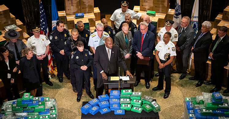 Photo of ICE HSI Philadelphia Announces Seizure of Over 17 Tons of Cocaine