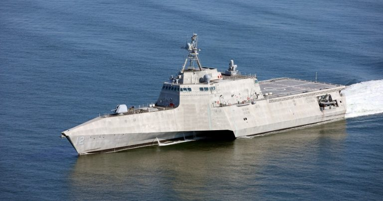 Photo of Navy to Christen Littoral Combat Ship Oakland