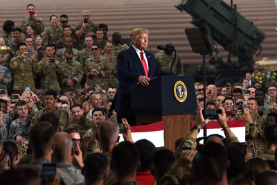 Photo of President Praises U.S. Military, Families in S. Korea