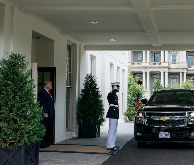 Photo of President Donald Trump's Schedule for Tuesday, January 7, 2020