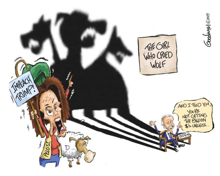 Photo of Girl Who Cried Wolf – Al Goodwyn Cartoon