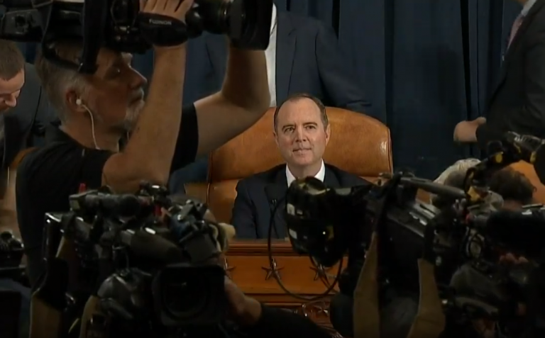 Photo of Watch Live: Adam Schiff's Impeachment Circus – Day 4 – 11/20/2019