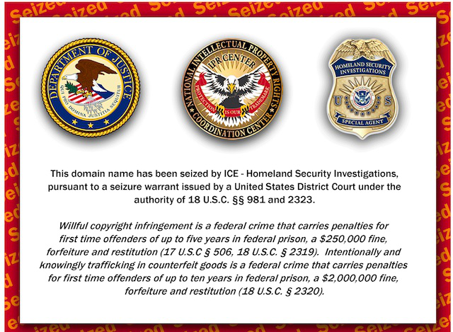 Photo of Feds Seize More Than 1 Million Websites Ahead of Cyber Monday