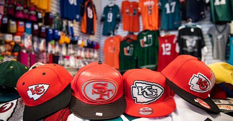 Photo of Feds seize record-breaking $123 million in fake sports merchandise
