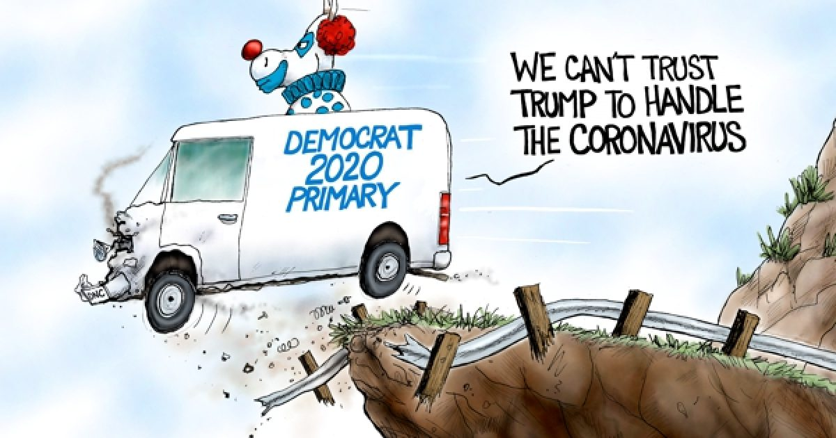 Photo of Clowns to the Left of Me – A.F. Branco Cartoon