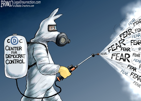 Photo of Nothing But Fear Itself – A.F. Branco Cartoon