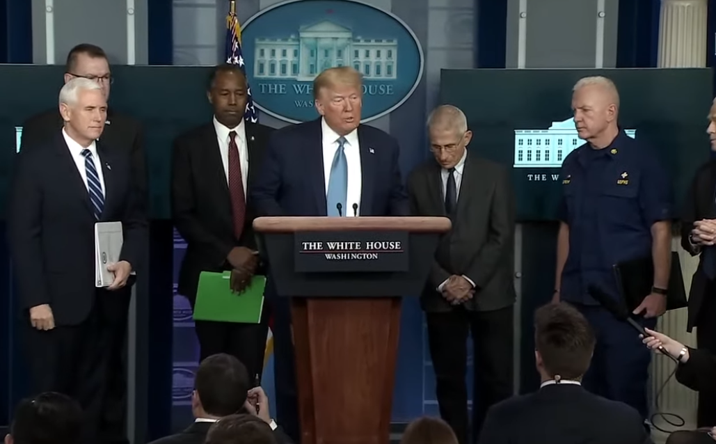 Photo of Coronavirus Task Force White House Press Briefing with President Trump – 3/21/20