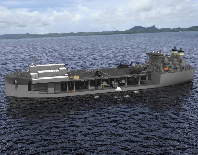 """Photo of Navy to Commission Expeditionary Sea Base USS Hershel """"Woody"""" Williams on Saturday"""