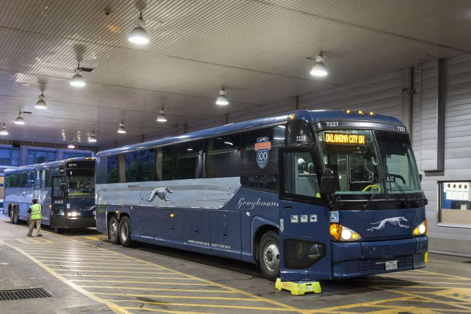 Photo of Checkpoint Inspection Yields an Impostor Claiming to be a U.S. Citizen aboard Greyhound Bus