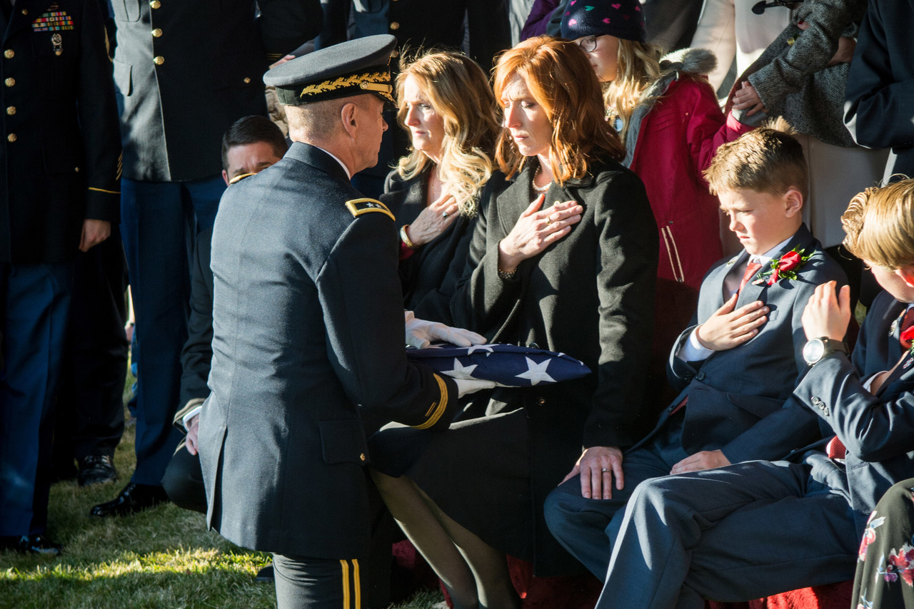 Photo of Gold Star Wife Remembers Soldier's Dreams