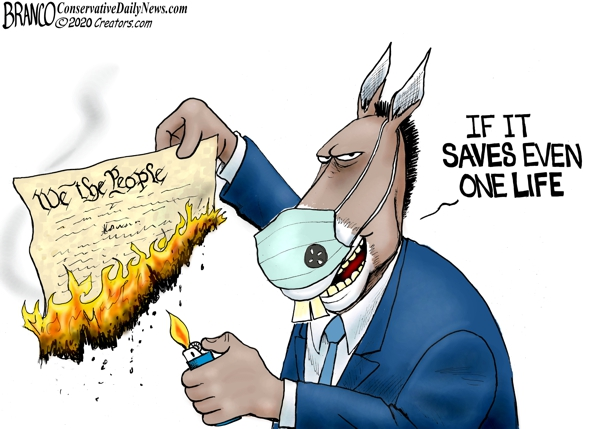 Photo of Ashes, Ashes, We All Fall Down – A.F. Branco Cartoon