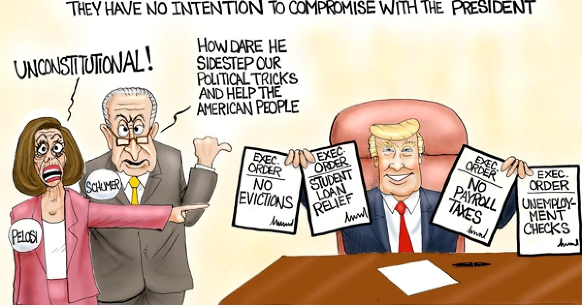 Photo of COVID Relief – A.F. Branco Cartoon