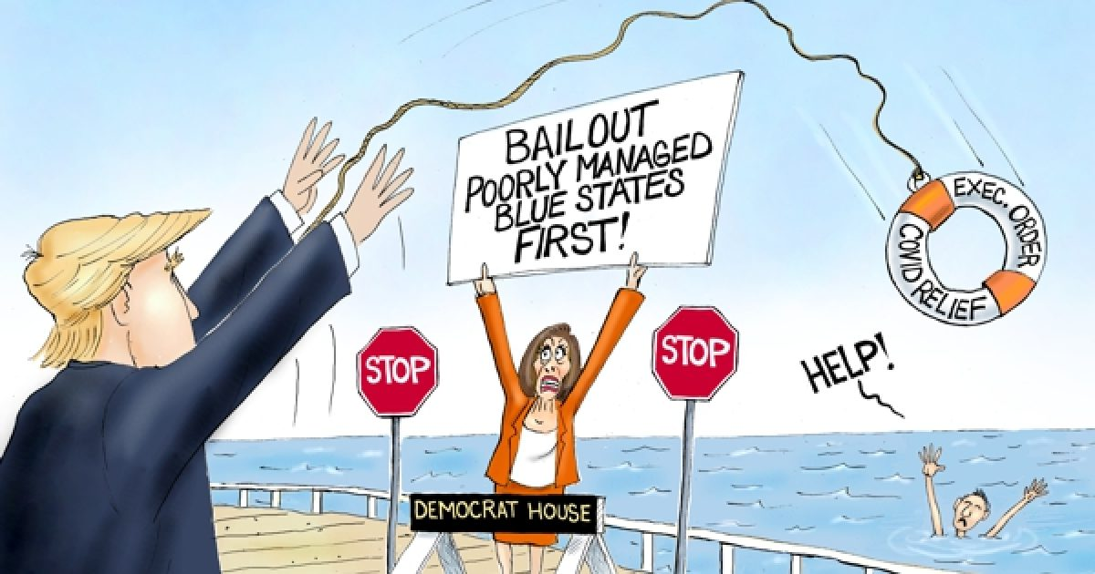 Photo of Lifesaver in Chief – A.F. Branco Cartoon