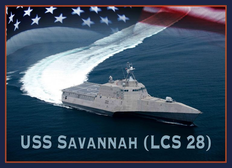 Photo of Navy to Christen Littoral Combat Ship Savannah Saturday
