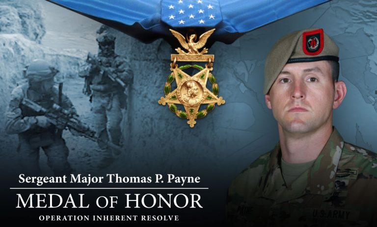 Photo of Watch Live: President Trump Presents the Medal of Honor to Sergeant Major Thomas Payne – 9/11/20