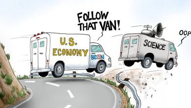 Photo of Leading From Behind – A.F. Branco Cartoon