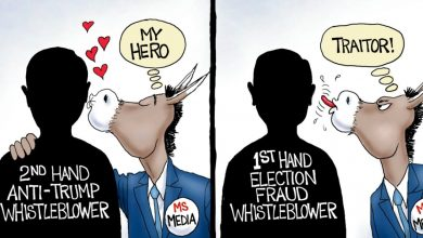 Photo of Friend and Foe – A.F. Branco Cartoon