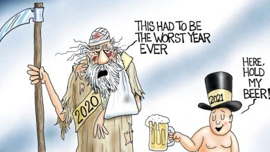 Photo of The Good Old Day's – A.F. Branco Cartoon
