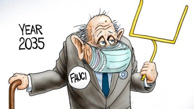 Photo of Blind Trust – A.F. Branco Cartoon