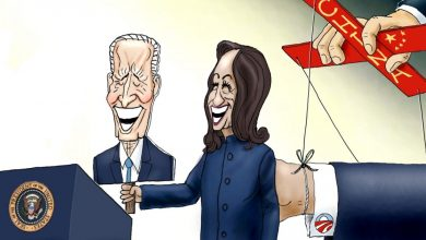 Photo of The Three Puppeteers – A.F. Branco Cartoon