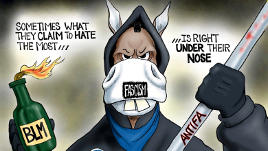 Photo of Party of Hate: A.F. Branco Cartoon